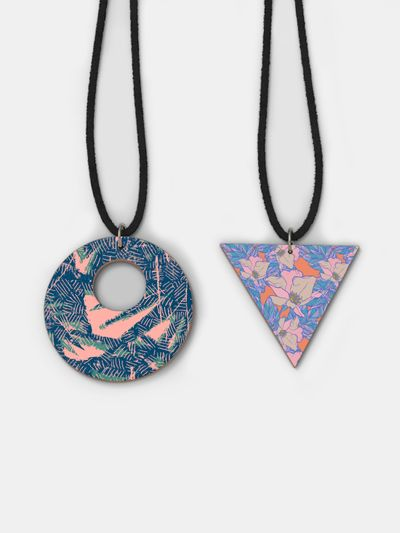 custom Wooden Necklace