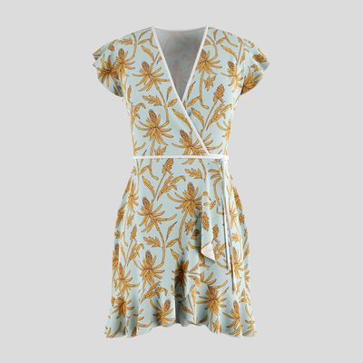 personalised tea dress
