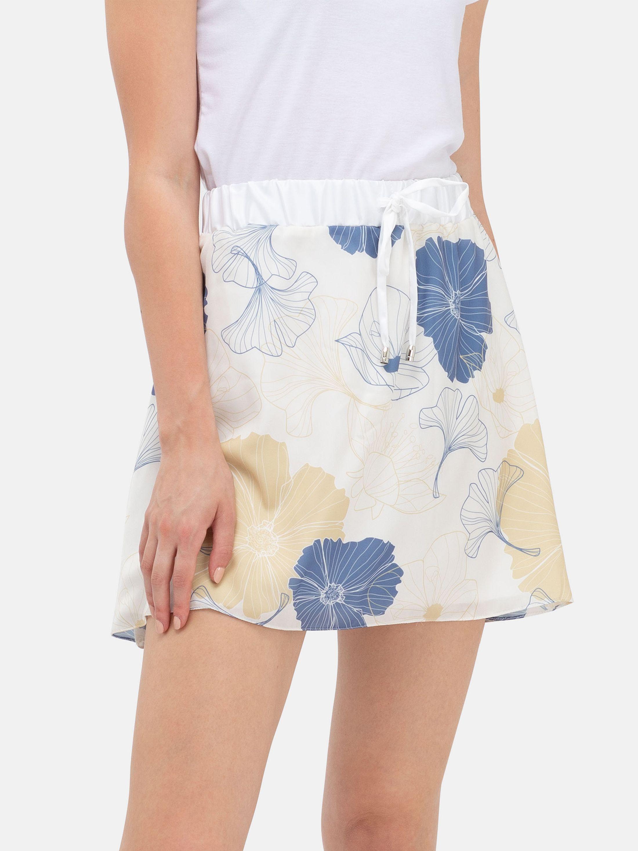 Impression sur la jupe fluide