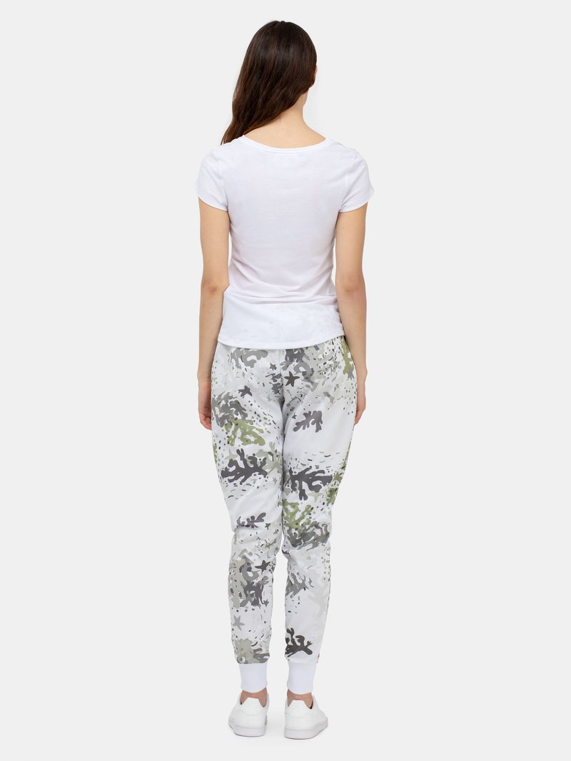 Pantalon de jogging avec un design géométrique