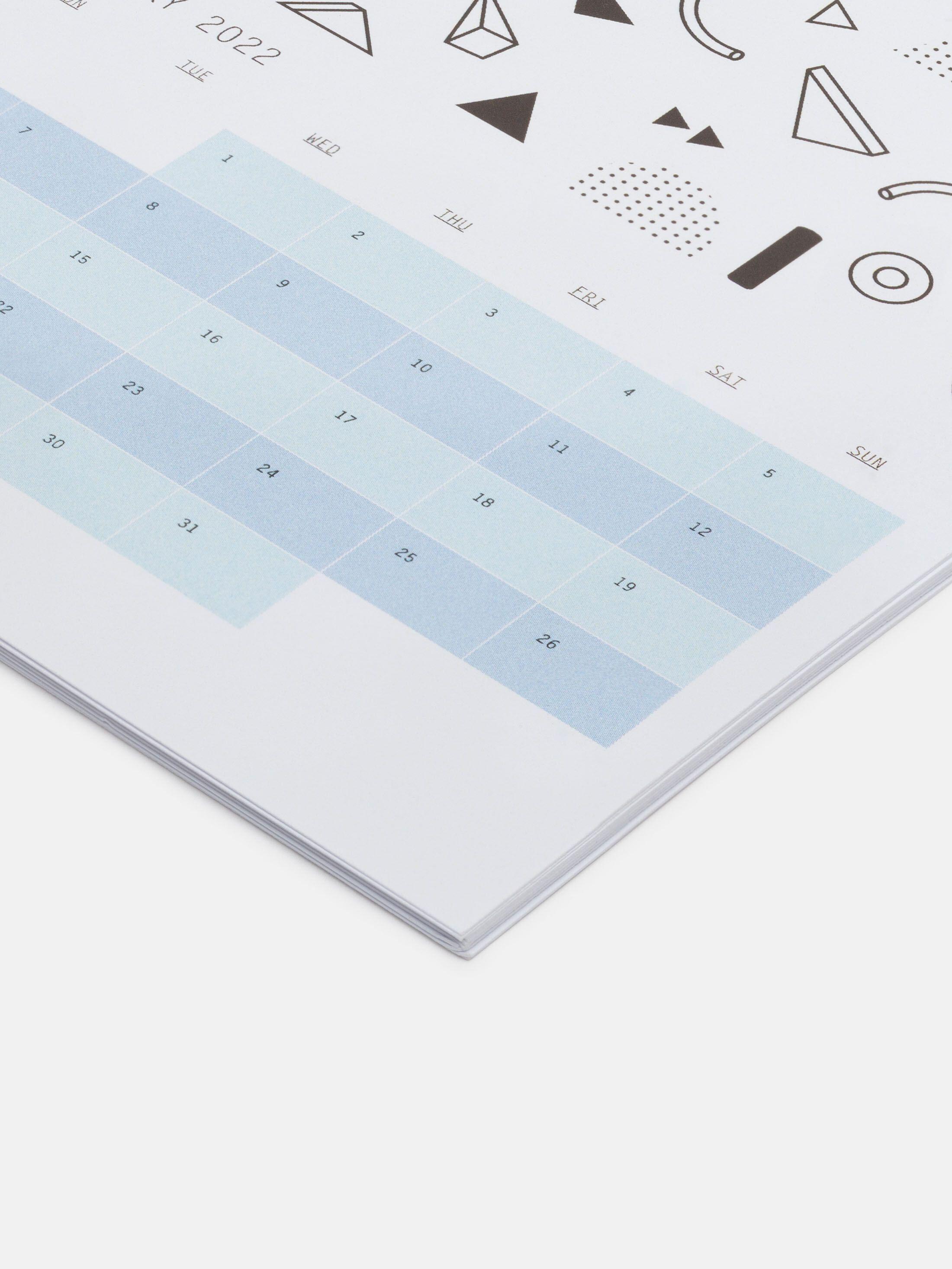 print your own desk calendar australia