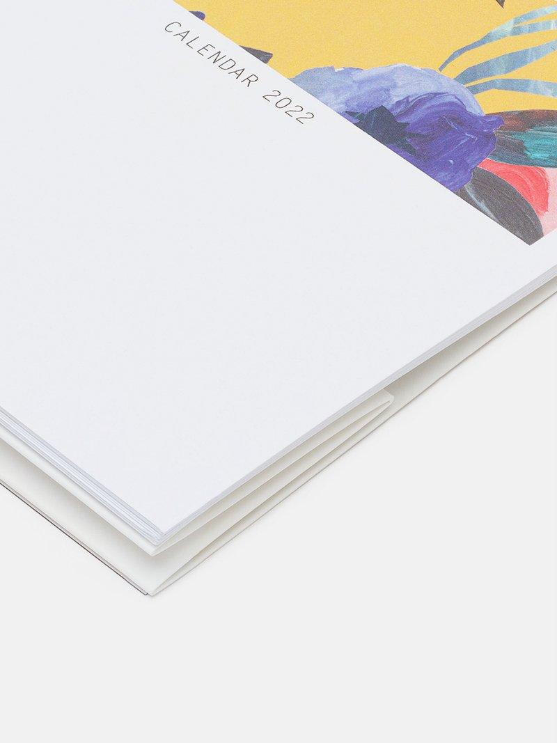 custom printed desk calendar
