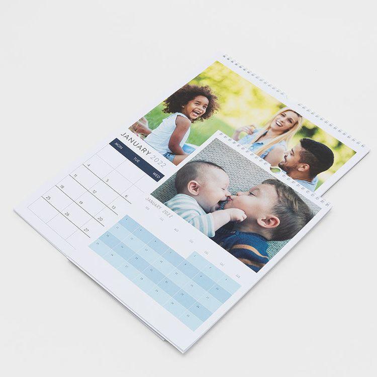 Calendarios con fotos de niños