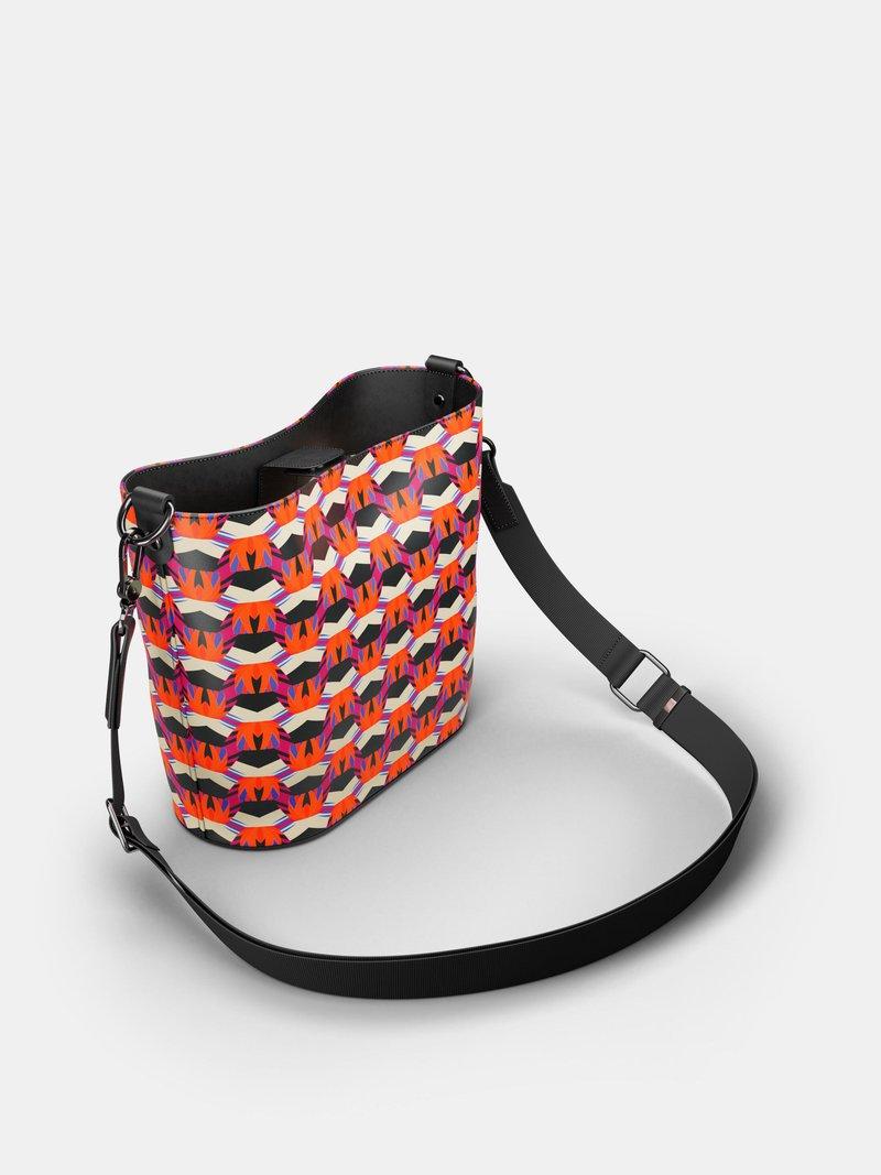 design your own shoulder bucket tote bag