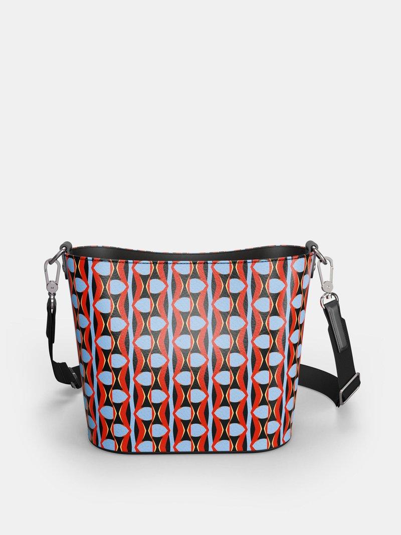 Custom Leather Bucket Tote  UK