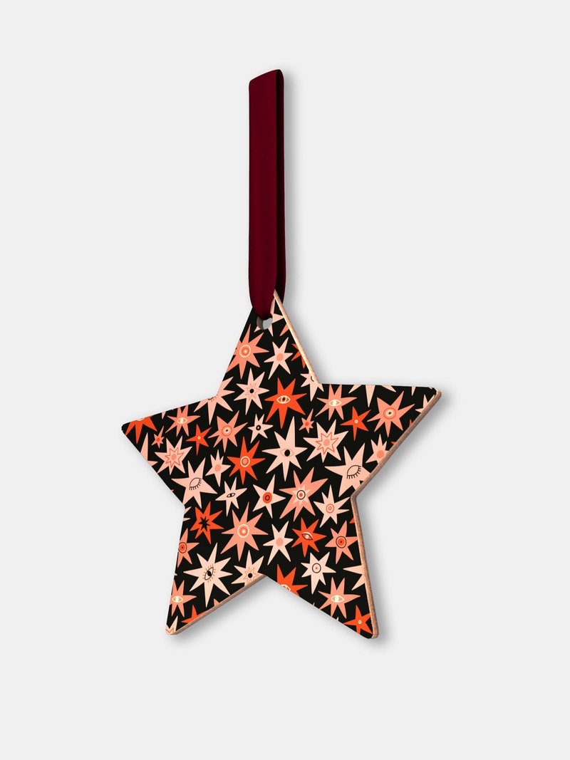 Custom Wooden Christmas Decorations star