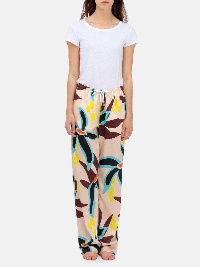 custom made ladies drawstring trousers