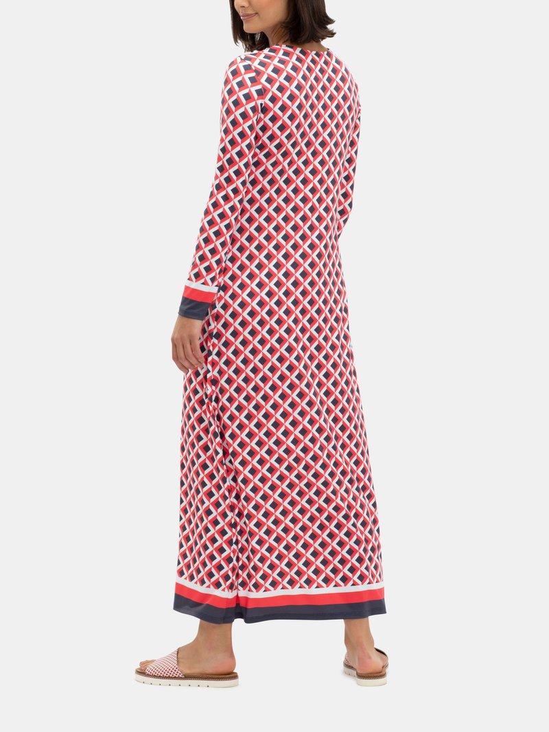 custom button through dress