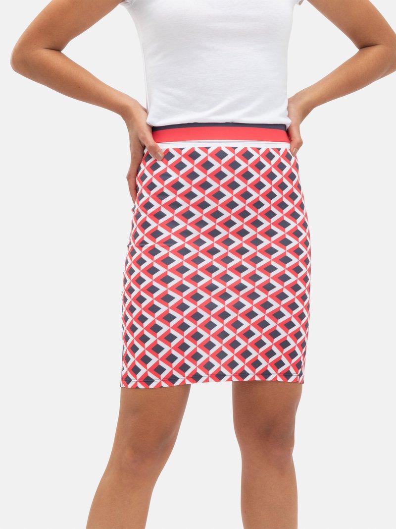 faldas largas estampadas