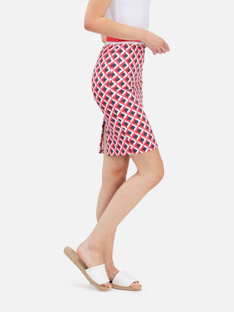 etiqueta opcional falda pencil