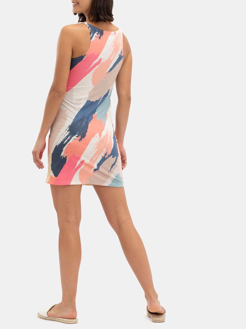 Sexy chemise slip dress