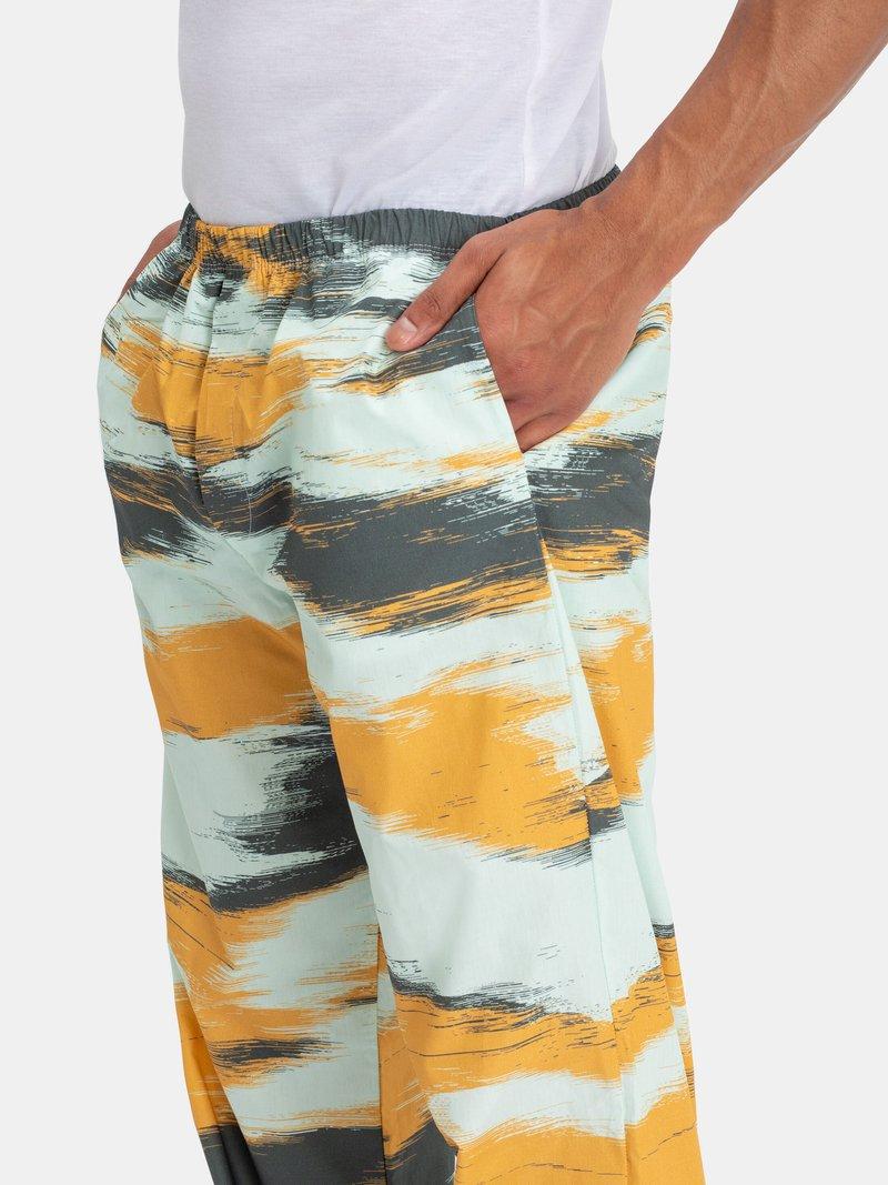 personalied pyjama pants with pocket detail