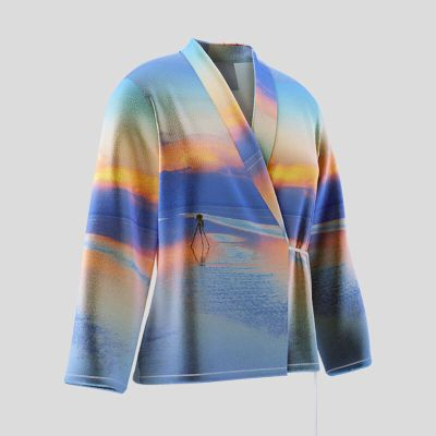 personalized wrap jacket