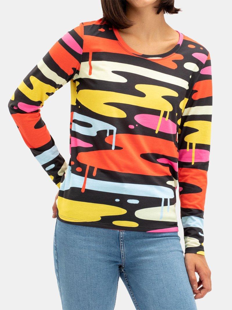 Women's Basic Cotton Long Sleeve T-Shirt