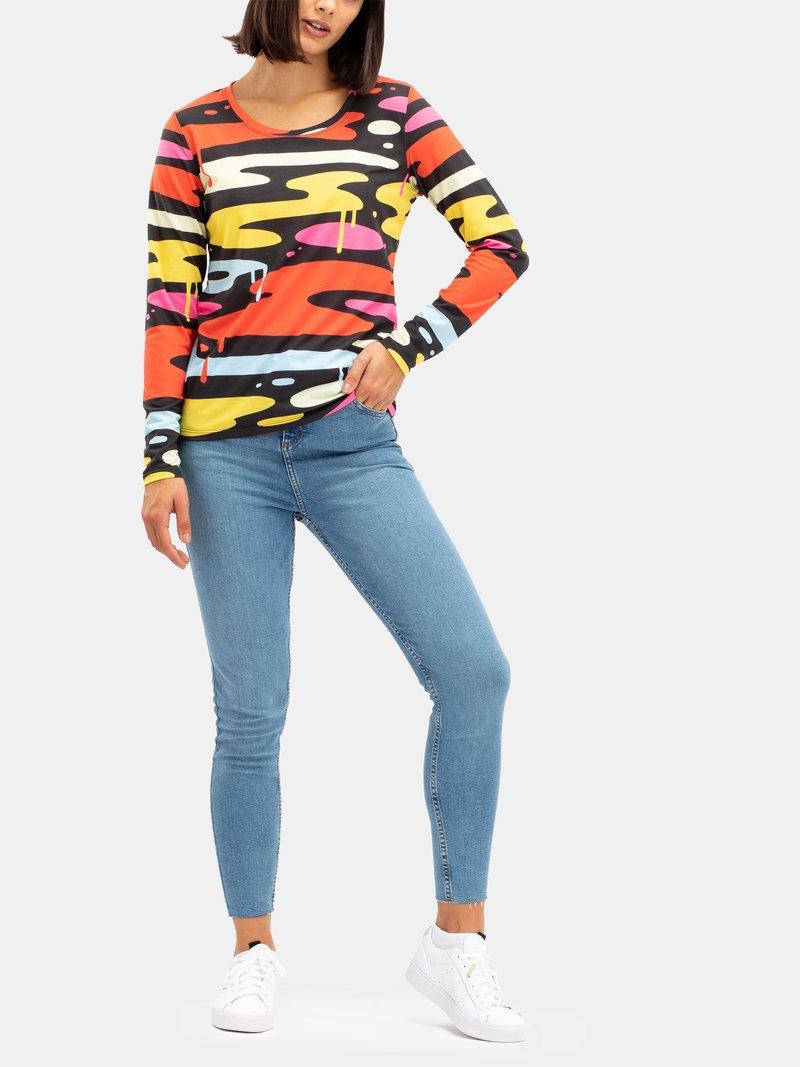 Women's Basic Custom Cotton Long Sleeve T-Shirt