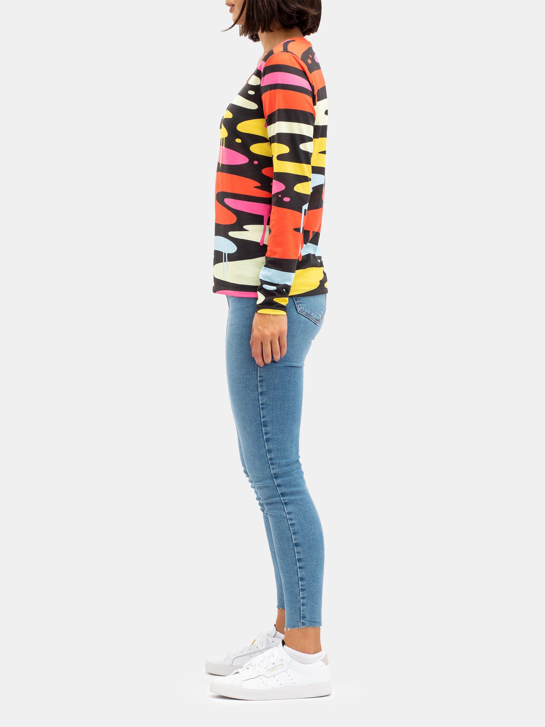 Women's Custom Cotton Long Sleeve T-Shirt
