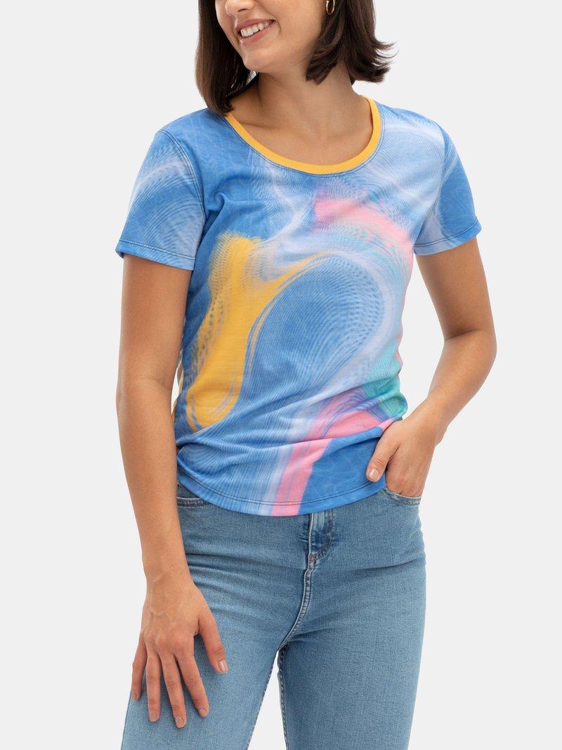 custom printed t shirt reactive print