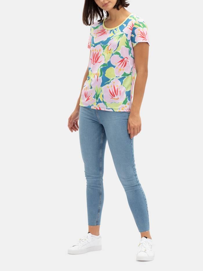 womens basic cotton jersey t shirt