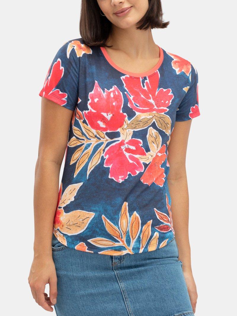 Slim fit jersey fabric t-shirt
