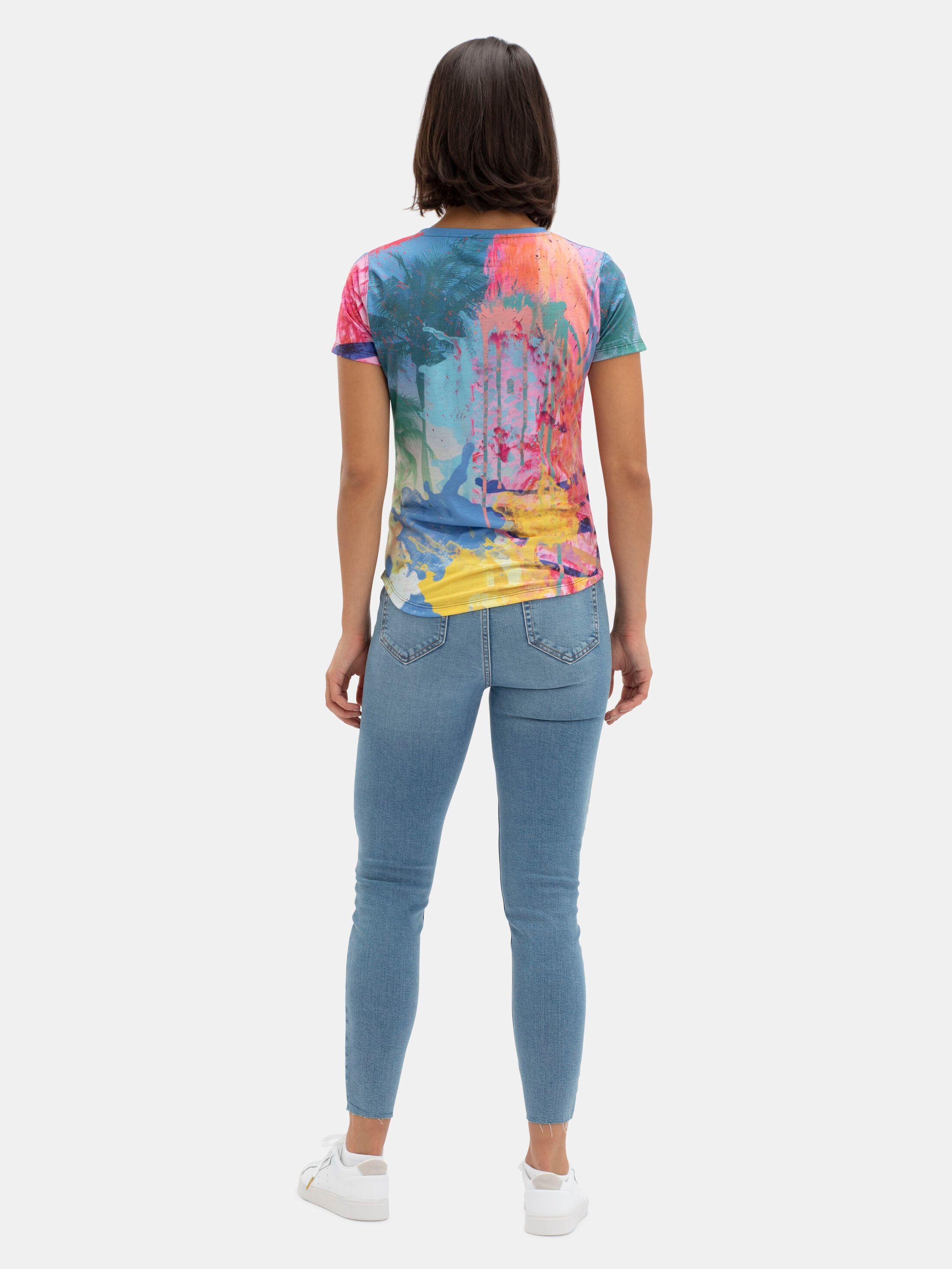 tela velour camiseta personalizada mujer