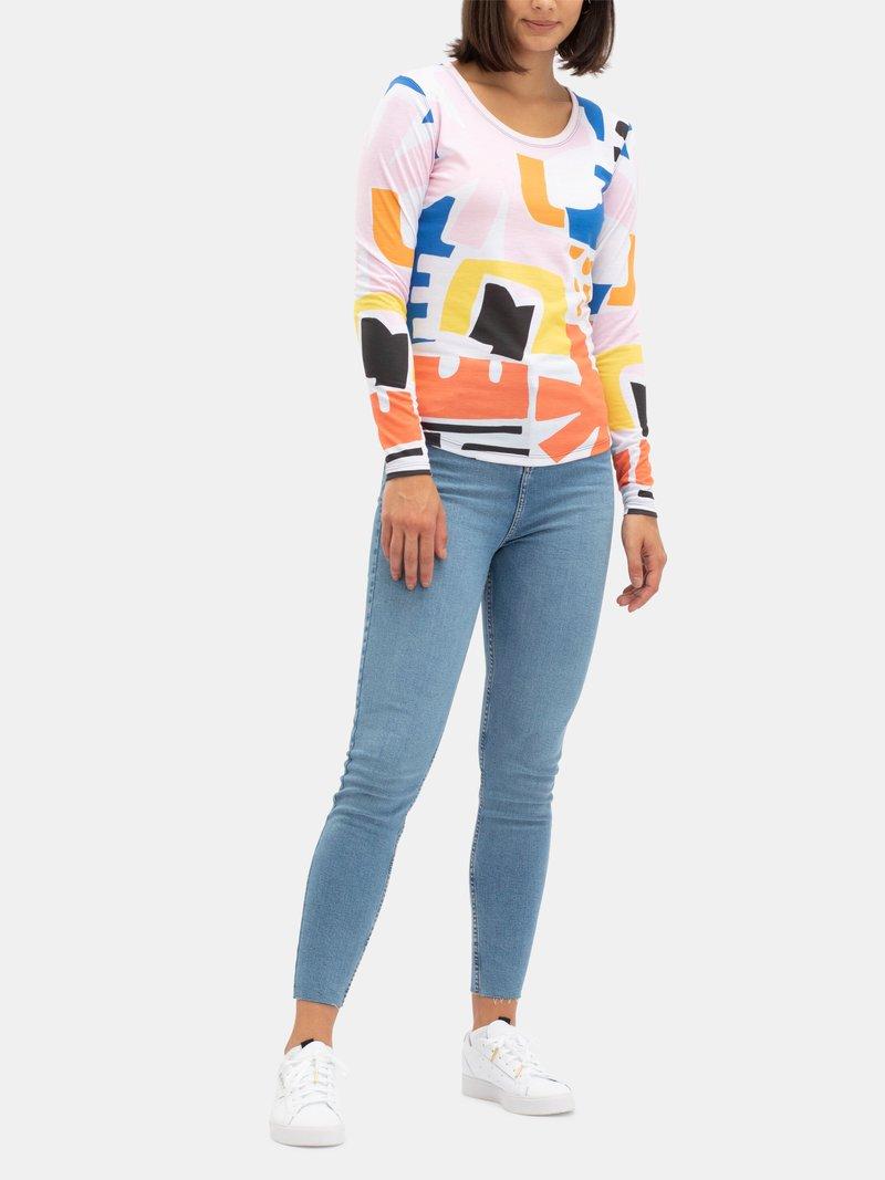 Women's Premium Cotton Personalised Long Sleeve Top