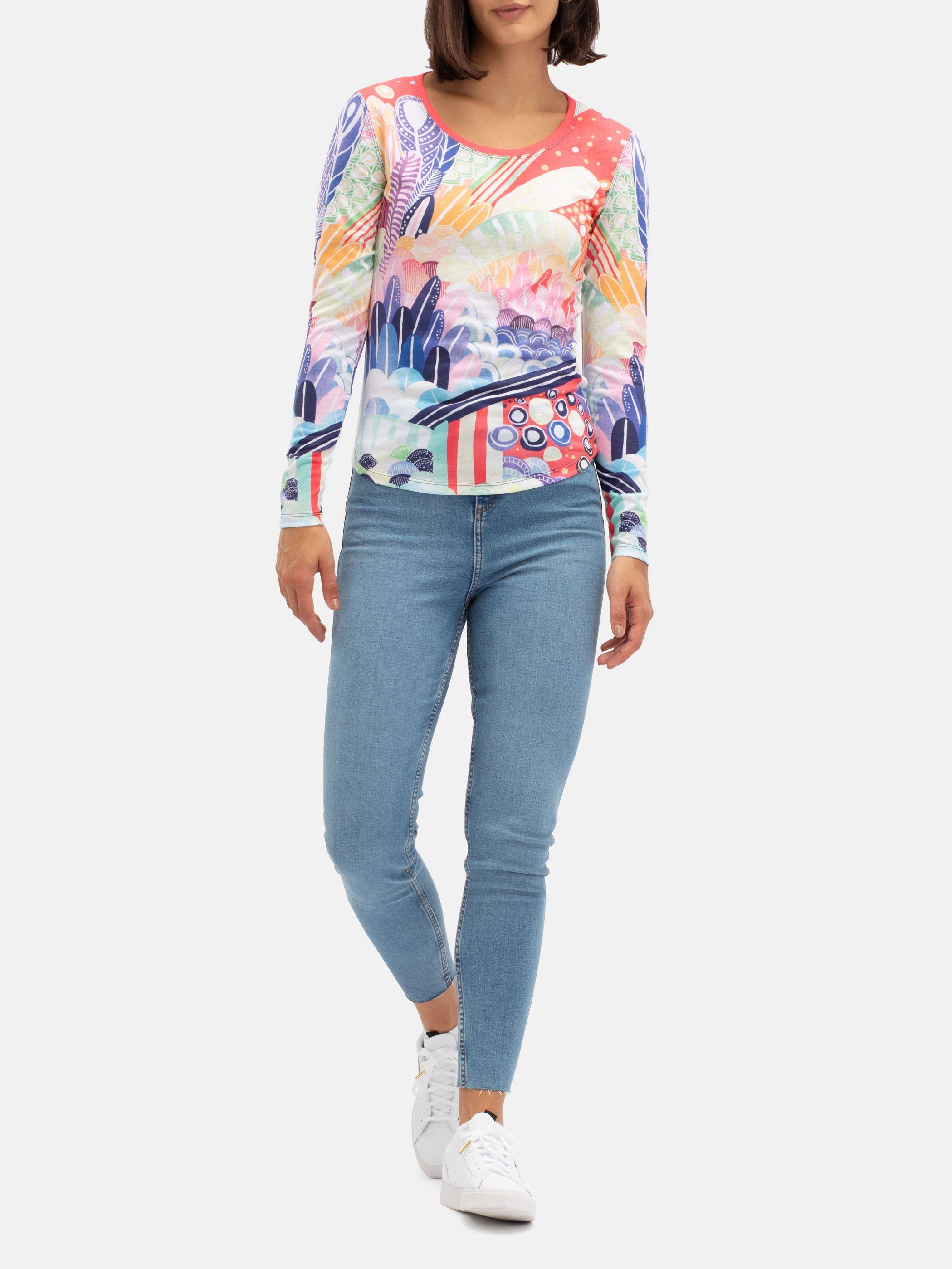 Women's Custom Slim Fit Long Sleeve T-Shirt