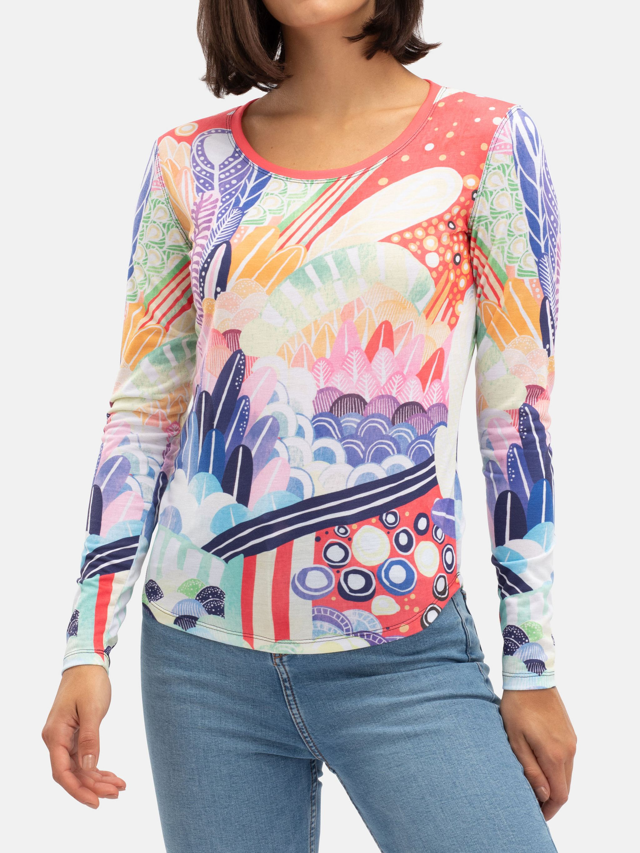 Women's Slim Fit Long Sleeve T-Shirt
