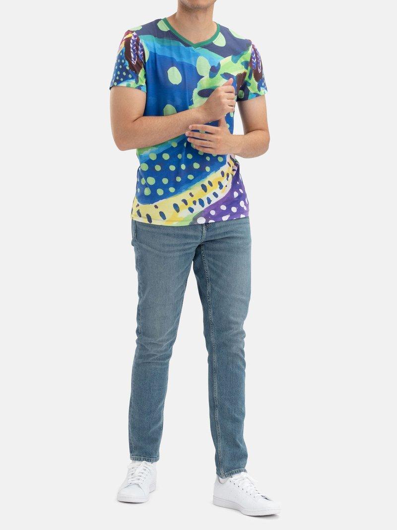 Customised Men's Eco-Friendly T-Shirt