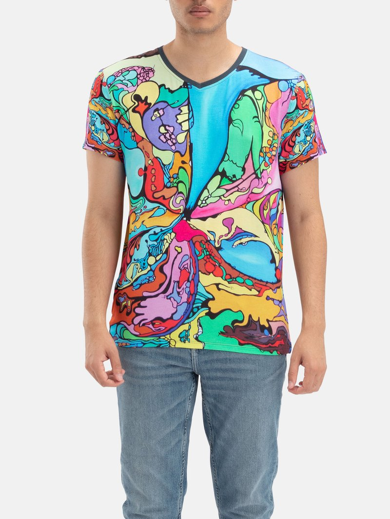 Design your own premium Custom V Neck T-Shirts