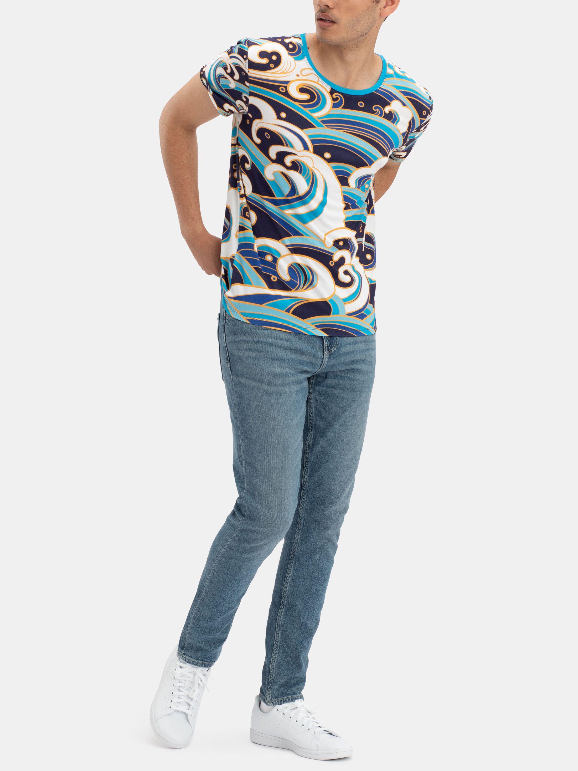 Men's Custom Crew Neck T-Shirt