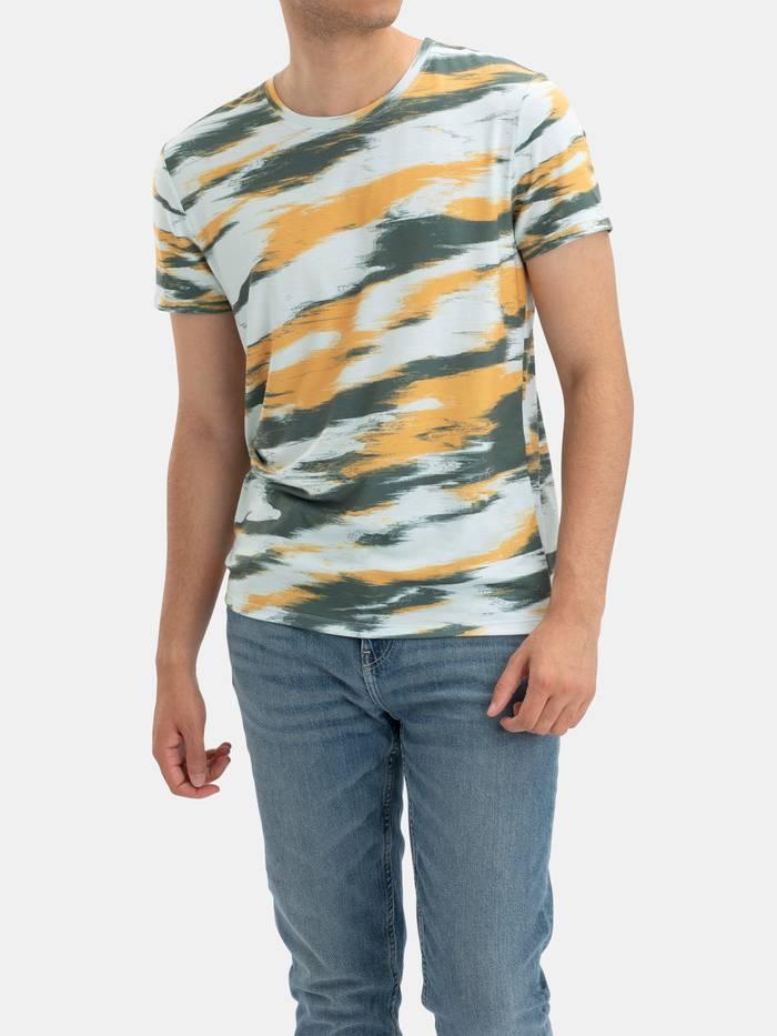 メンズ全面プリントTシャツ