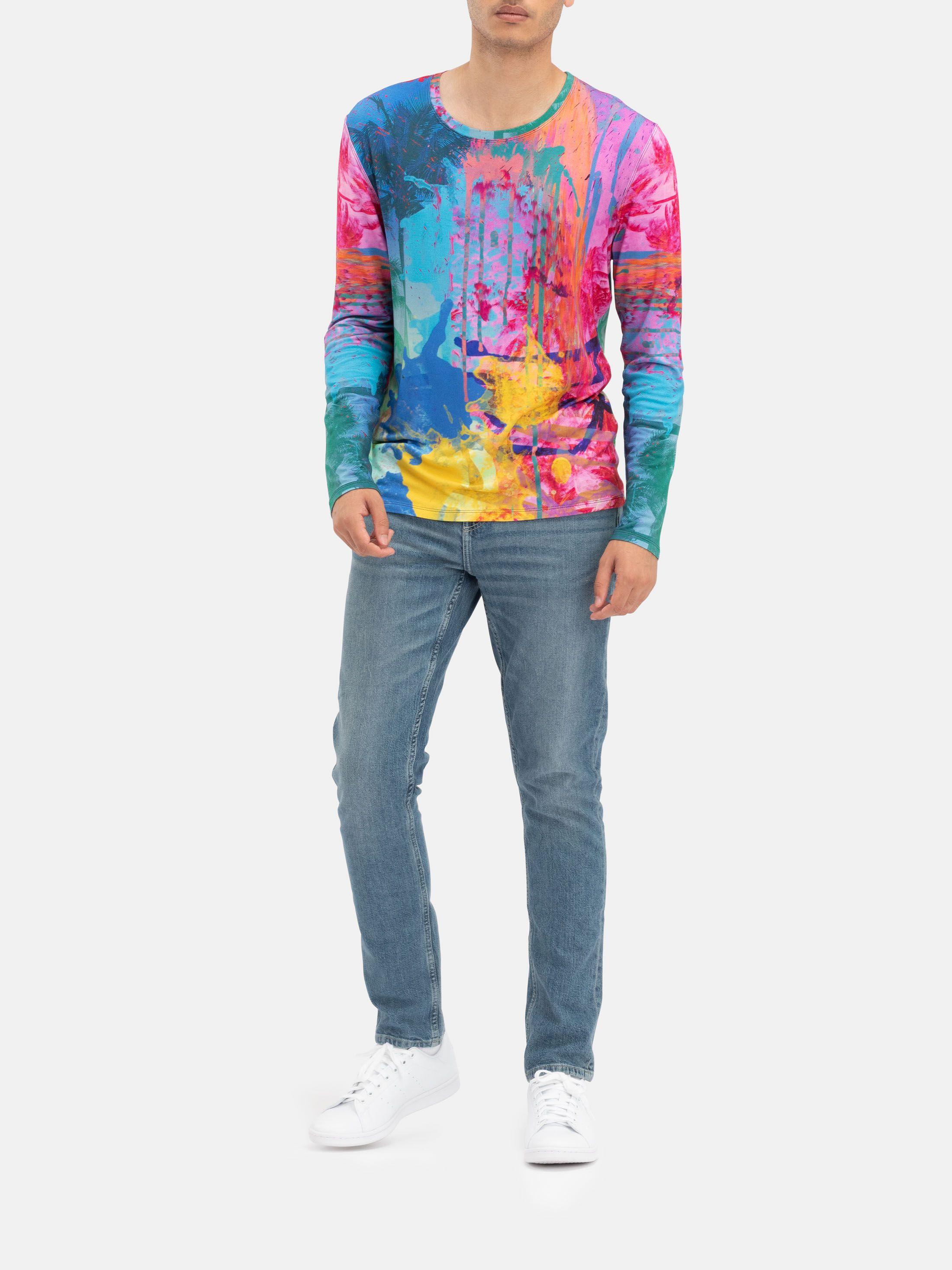 Design Men's Premium Cotton Long Sleeve Shirt