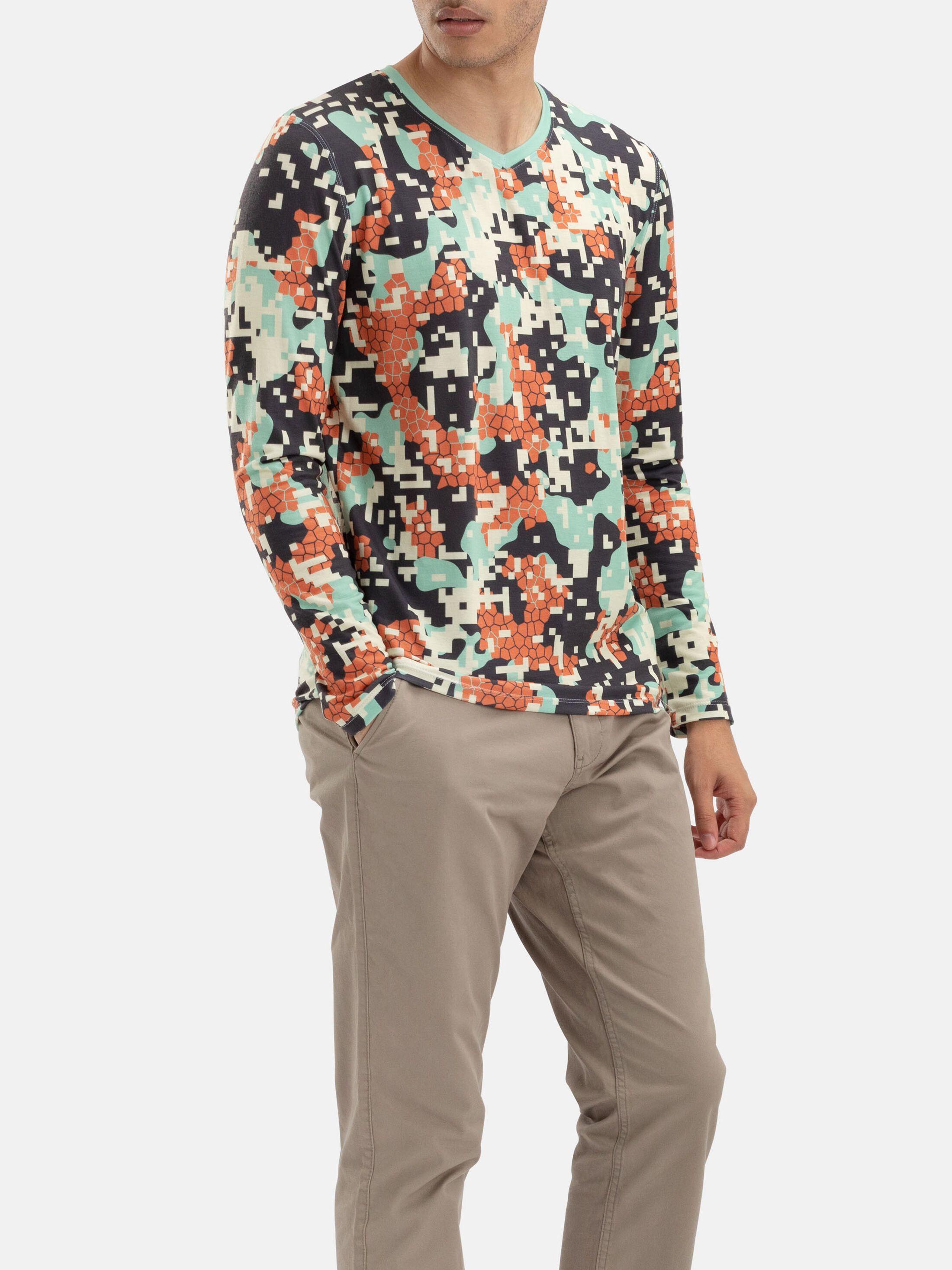 Men's Custom Eco Long Sleeve T-Shirt
