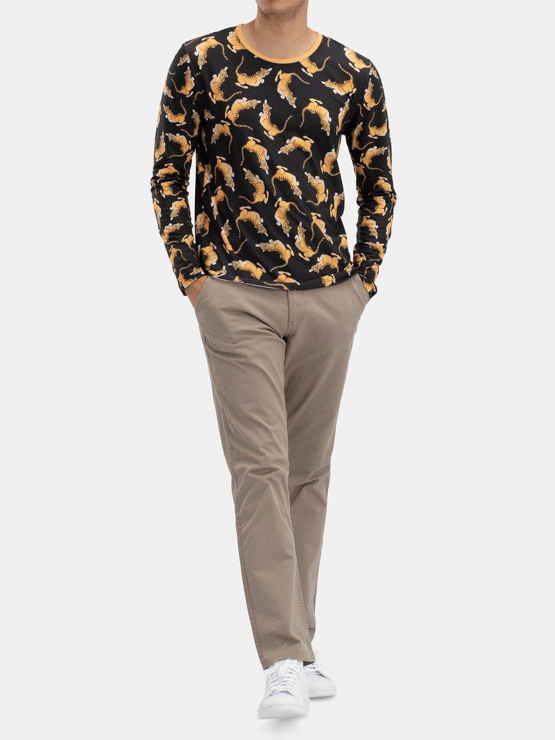 Men's Custom Regular Fit Long Sleeve T-Shirt