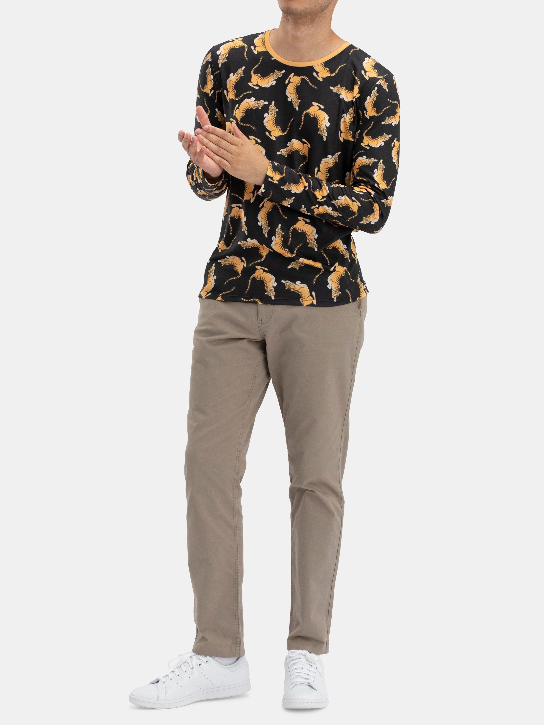 Men's Custom Long Sleeve T-Shirt