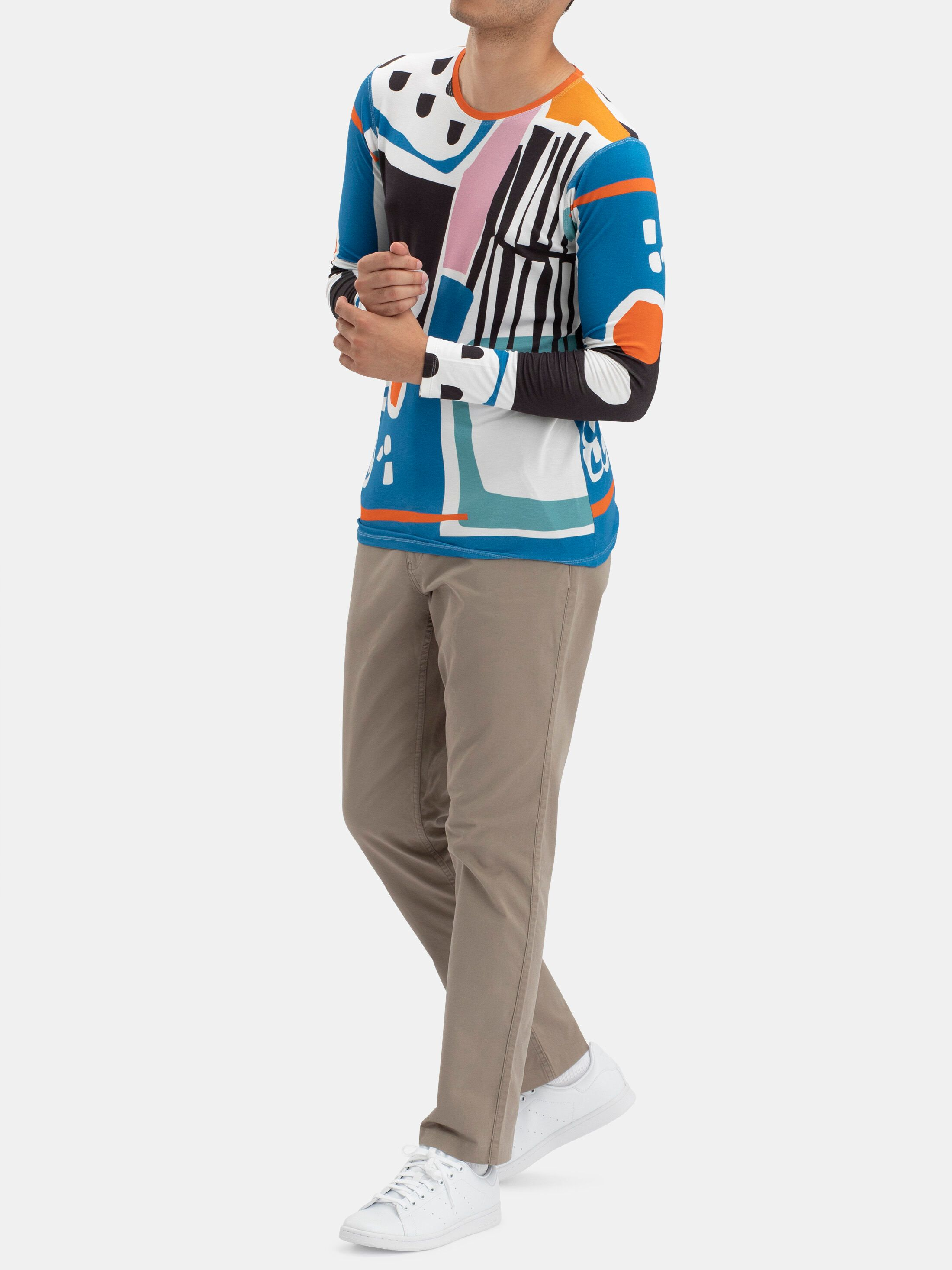 Men's Custom Long Sleeve Jersey T-Shirt