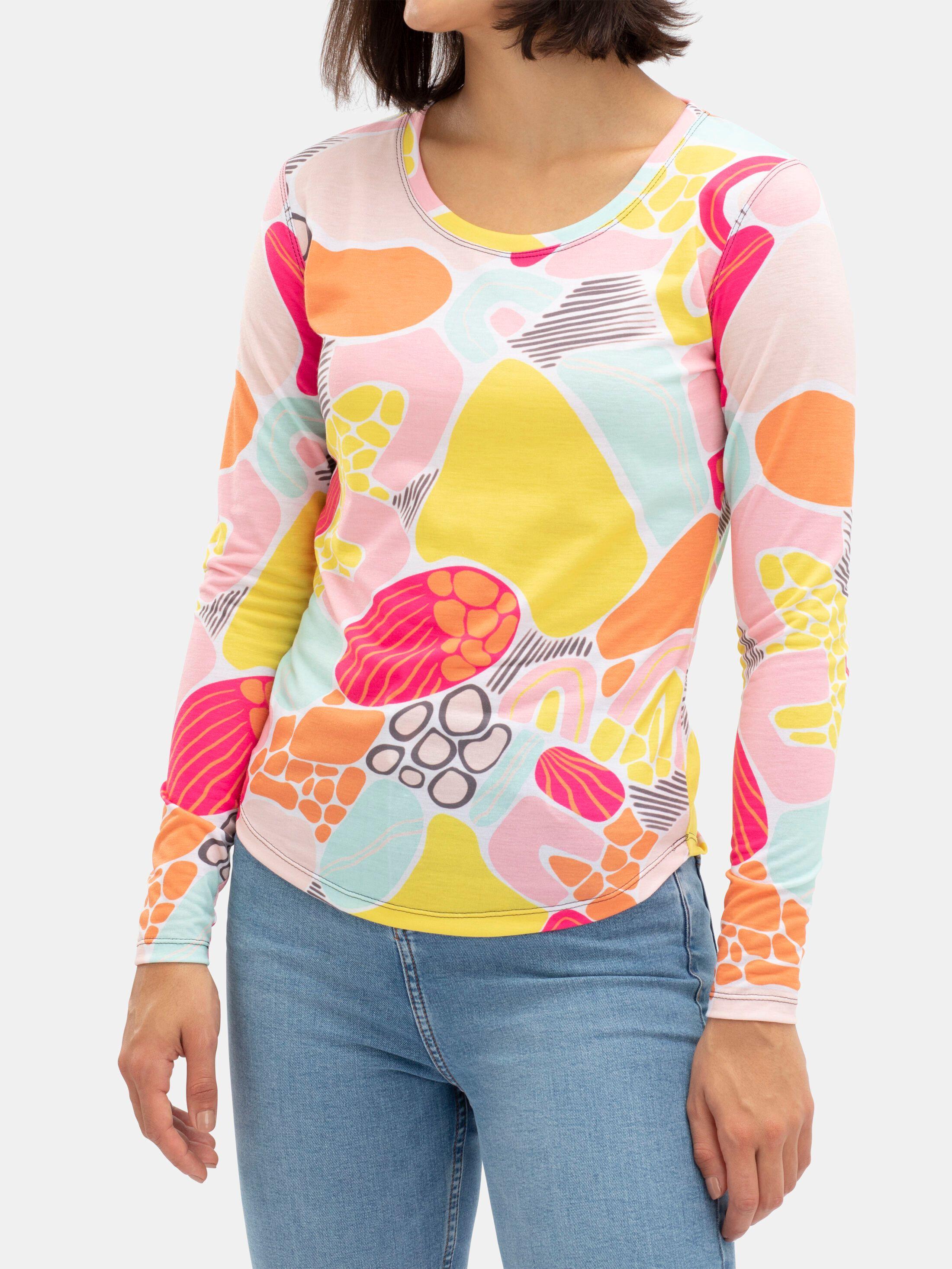 Womens Custom Made Long Sleeve T-Shirt