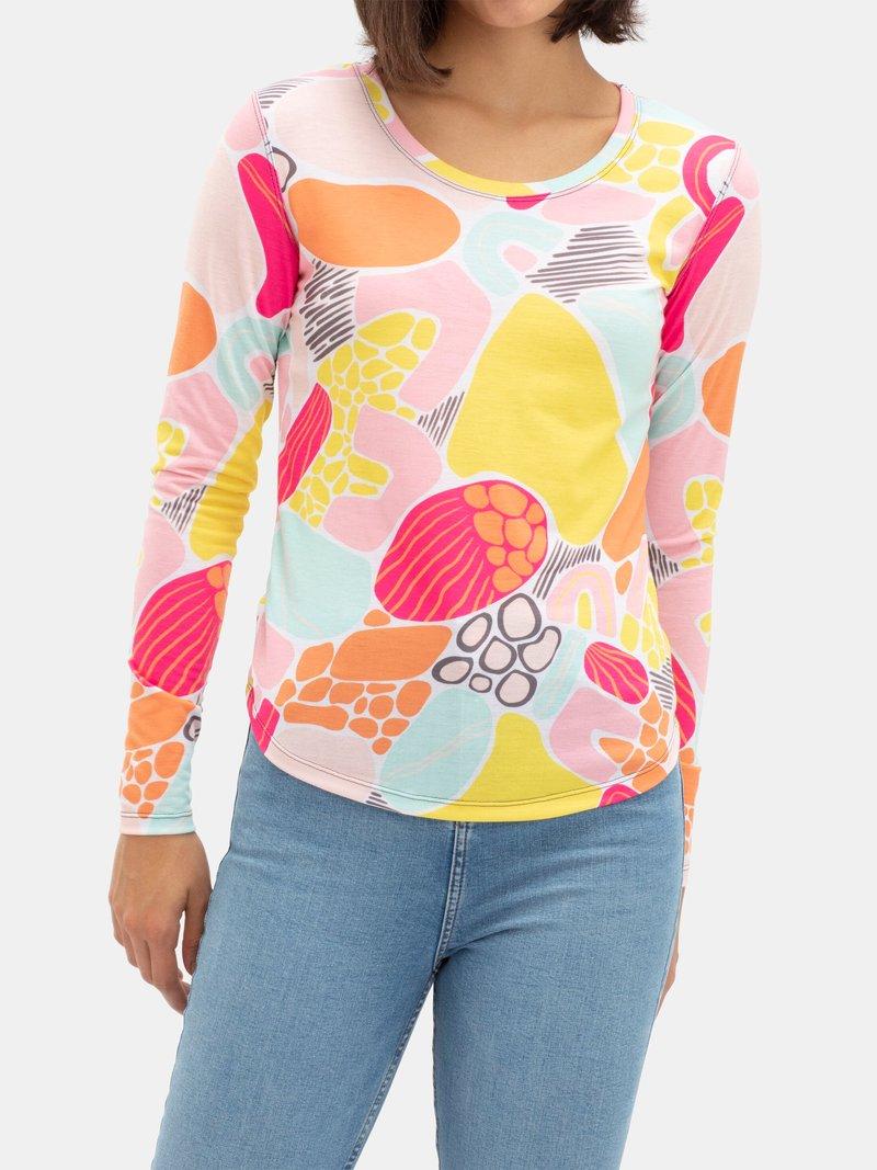 Långärmad t-shirt med eget tryck