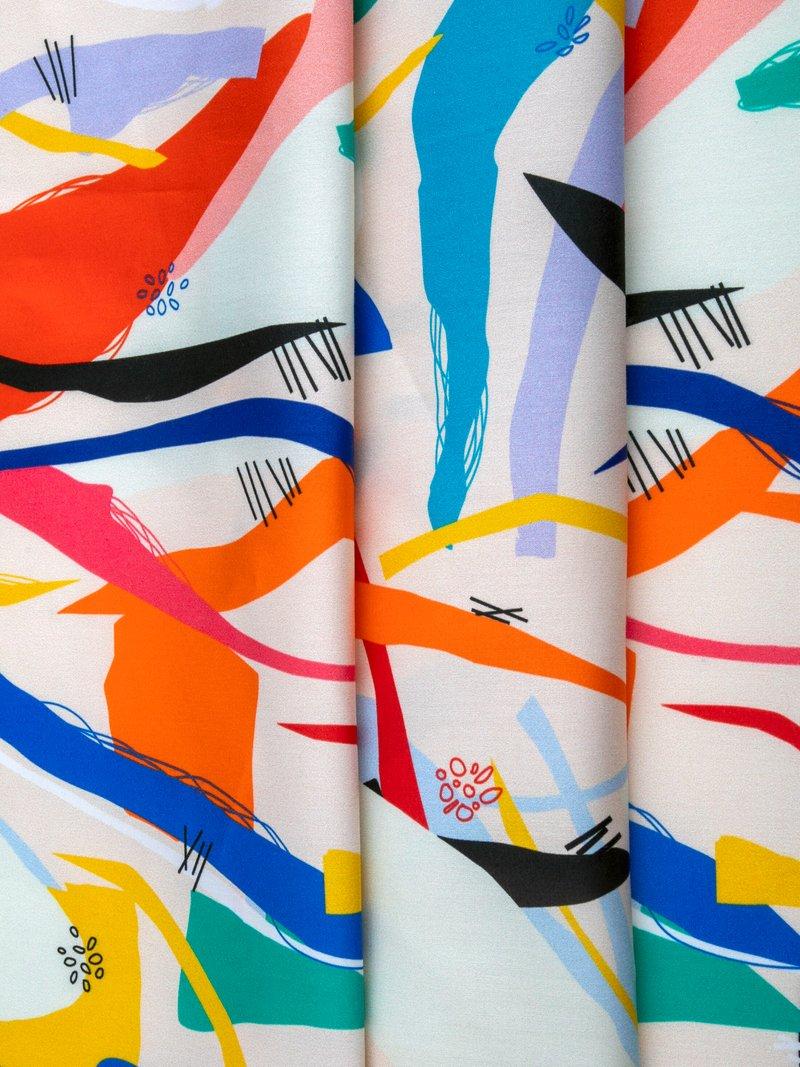 printing cotton sateen fabric