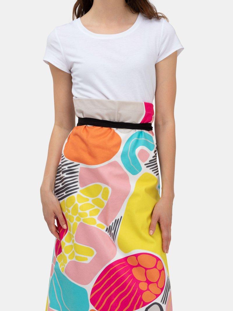 Waist apron long design
