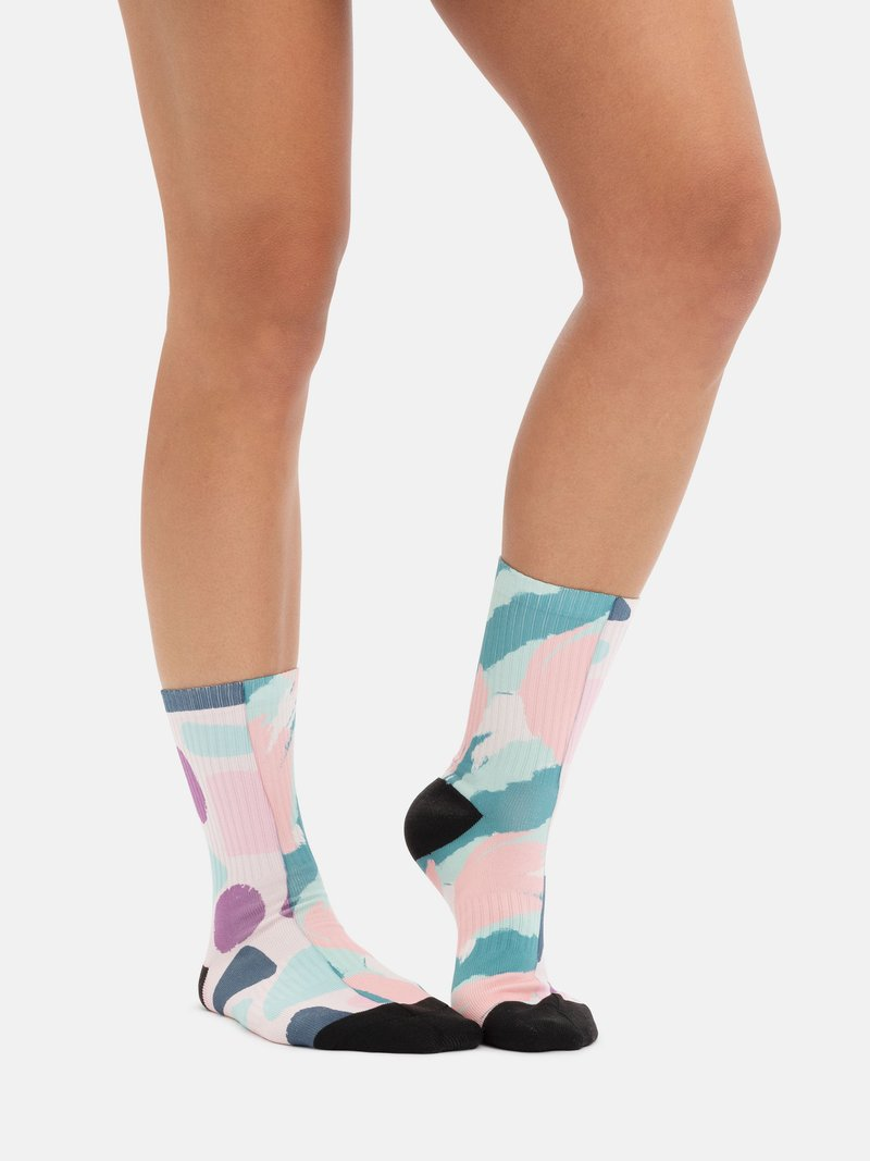 linea visibile dei calzini personalizzati