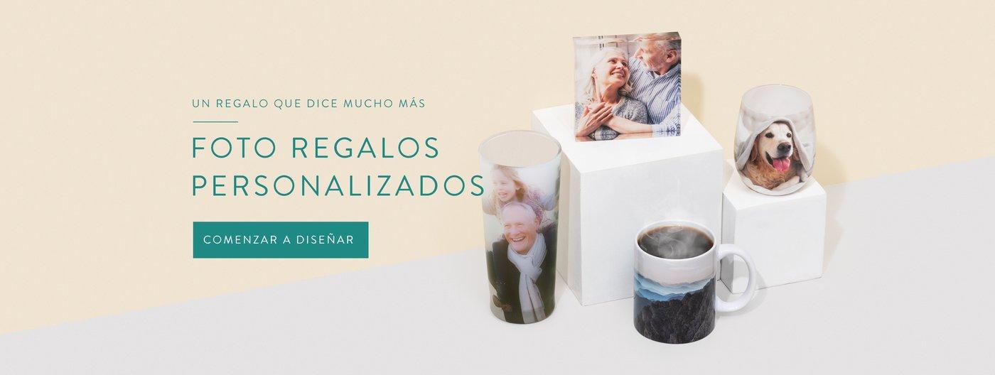 Foto regalos personalizados