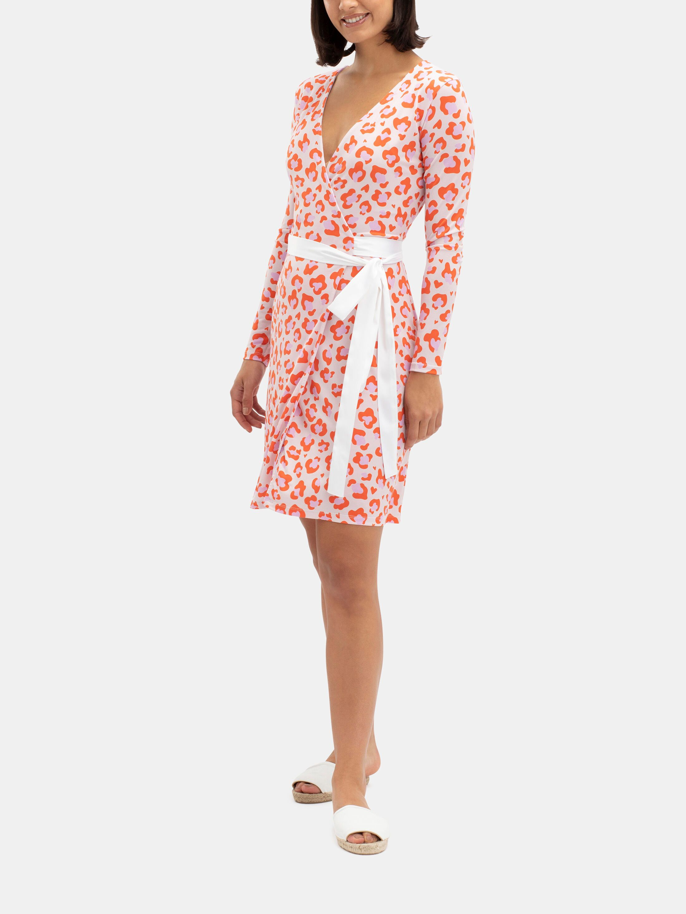printed your own custom wrap dress