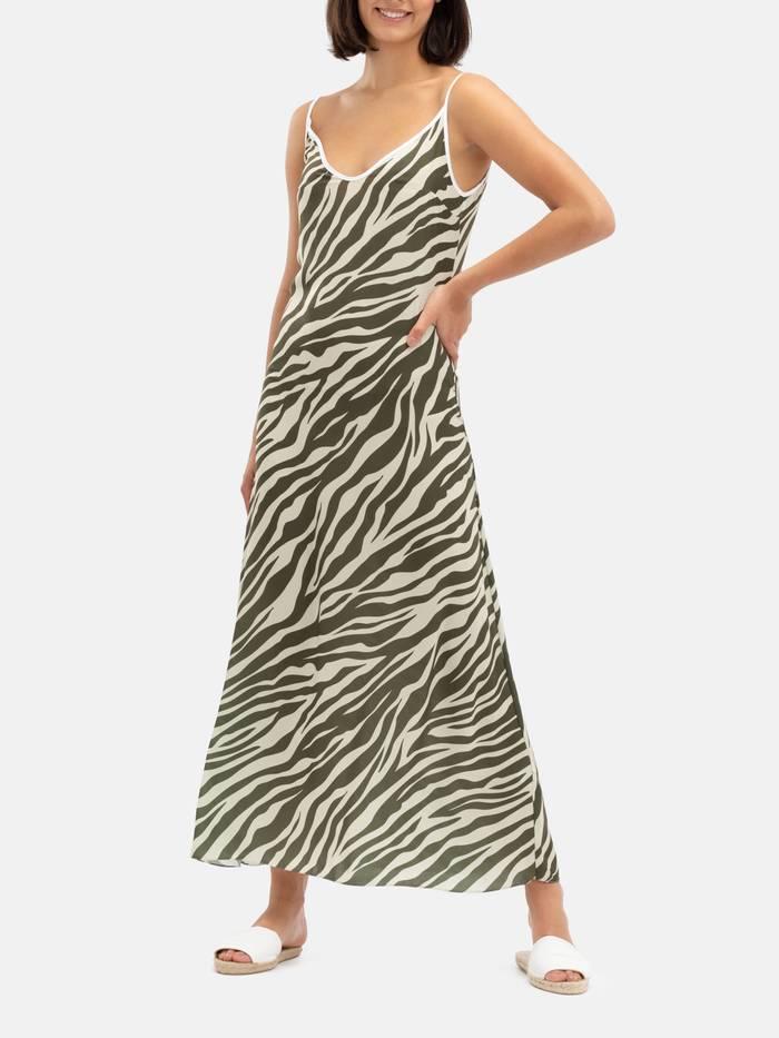 slipklänning med eget mönster
