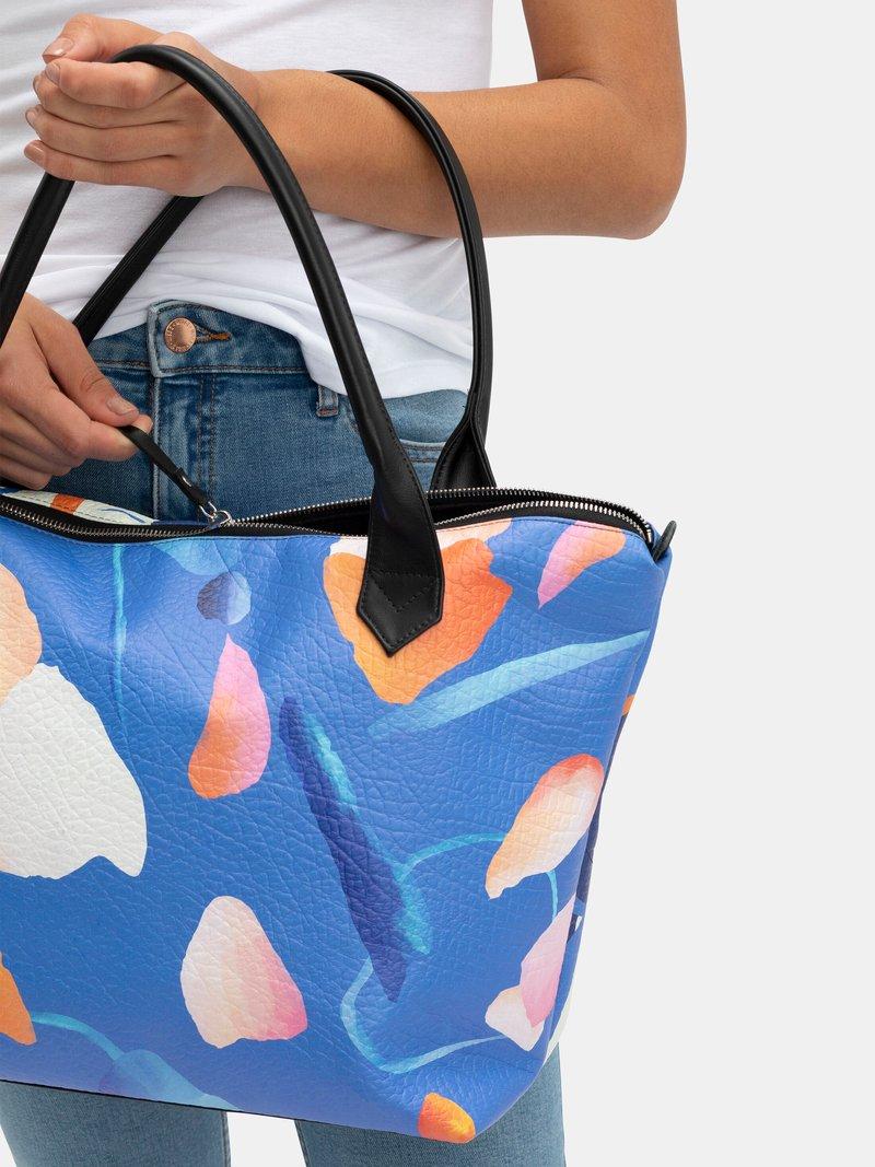 Custom Printed Leather Tote Bag