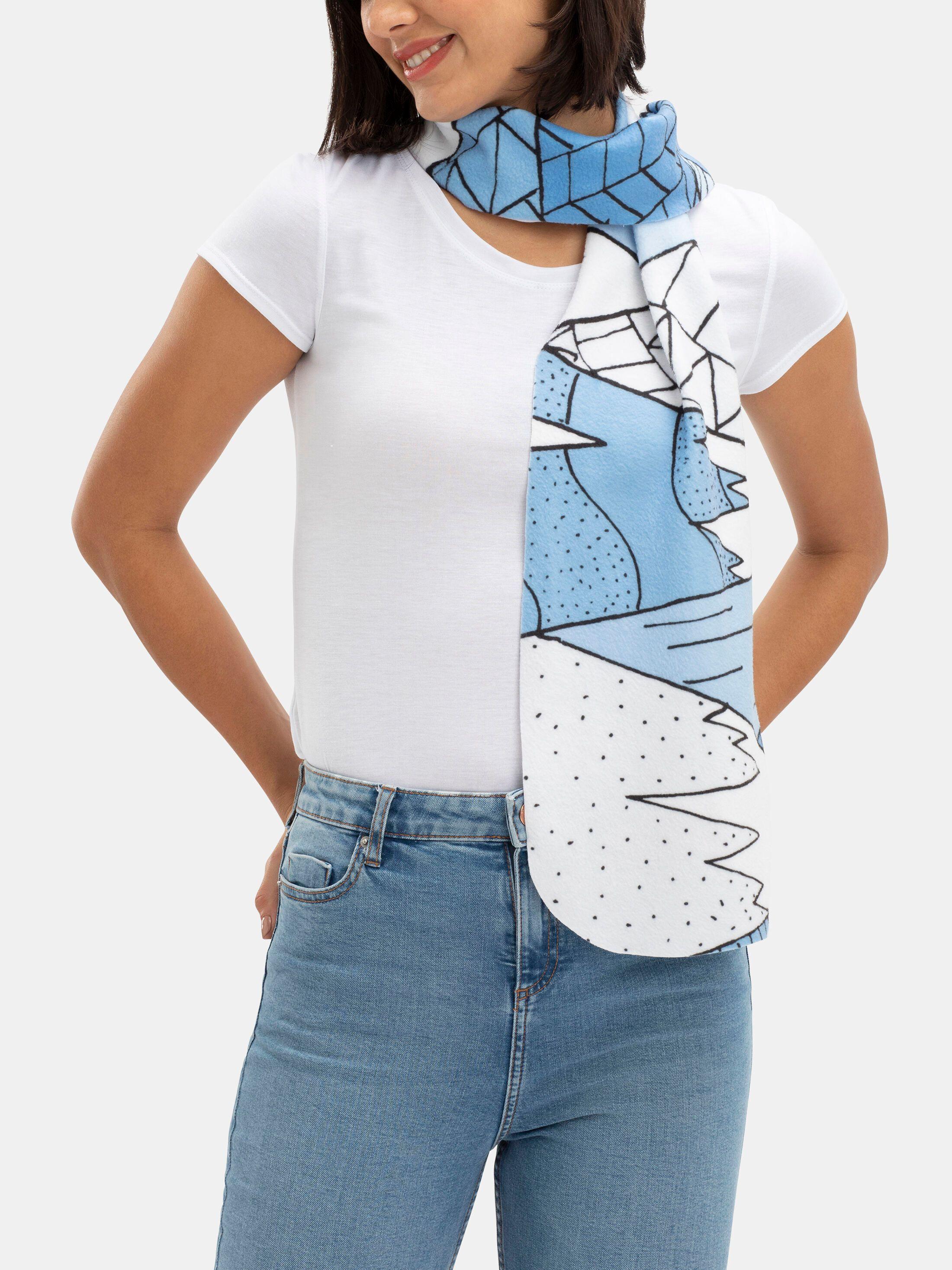 écharpe imprimée customisée