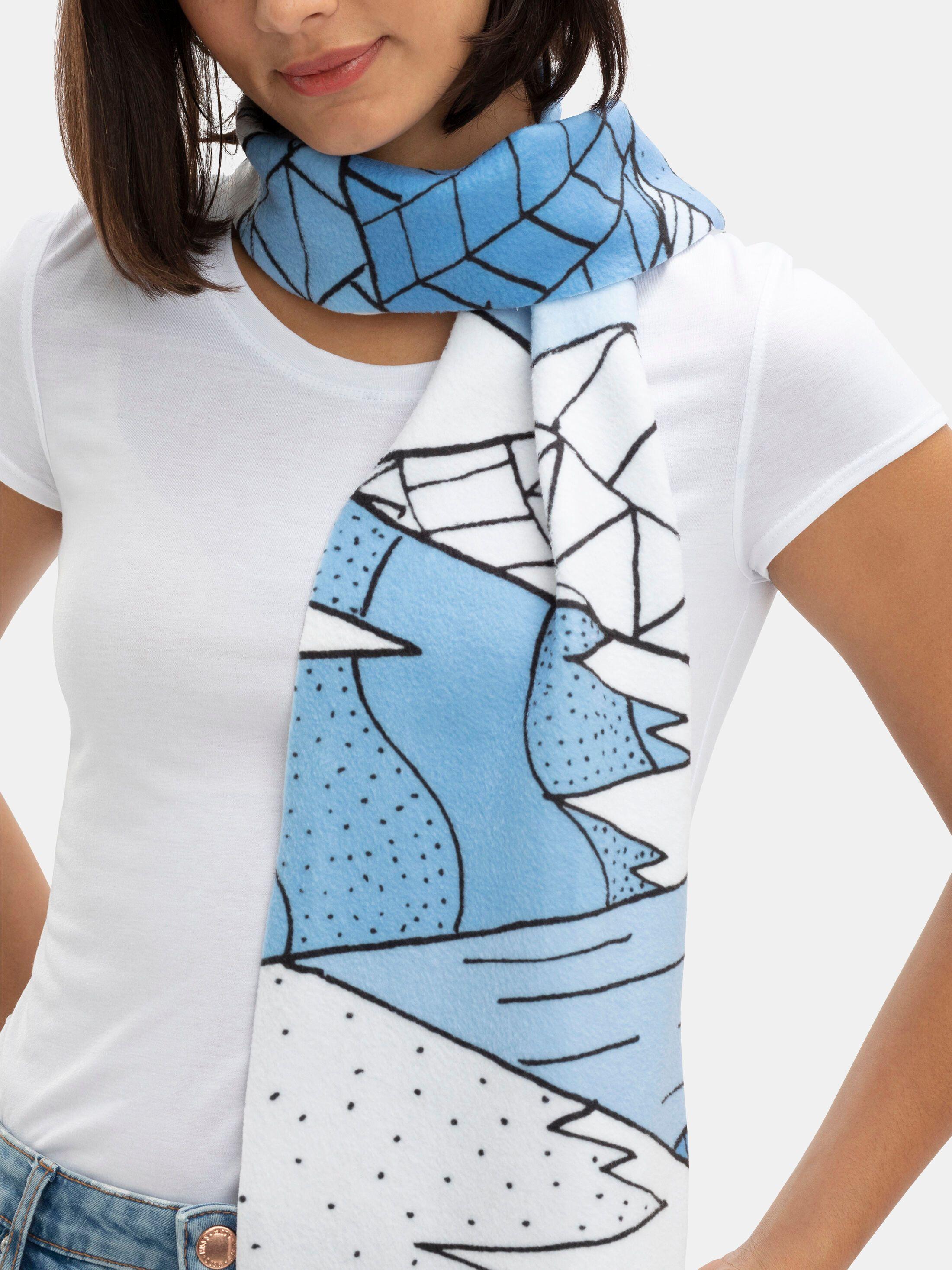 écharpe imprimée personnalisée