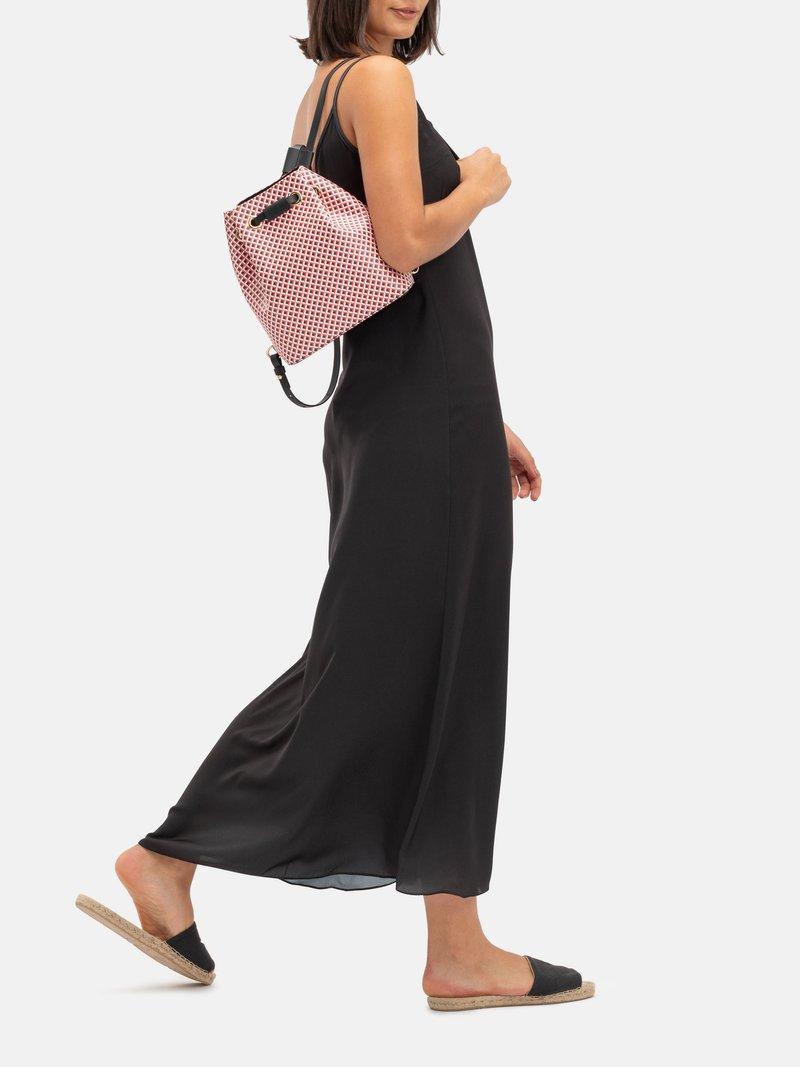 mochila saco personalizada en blanco