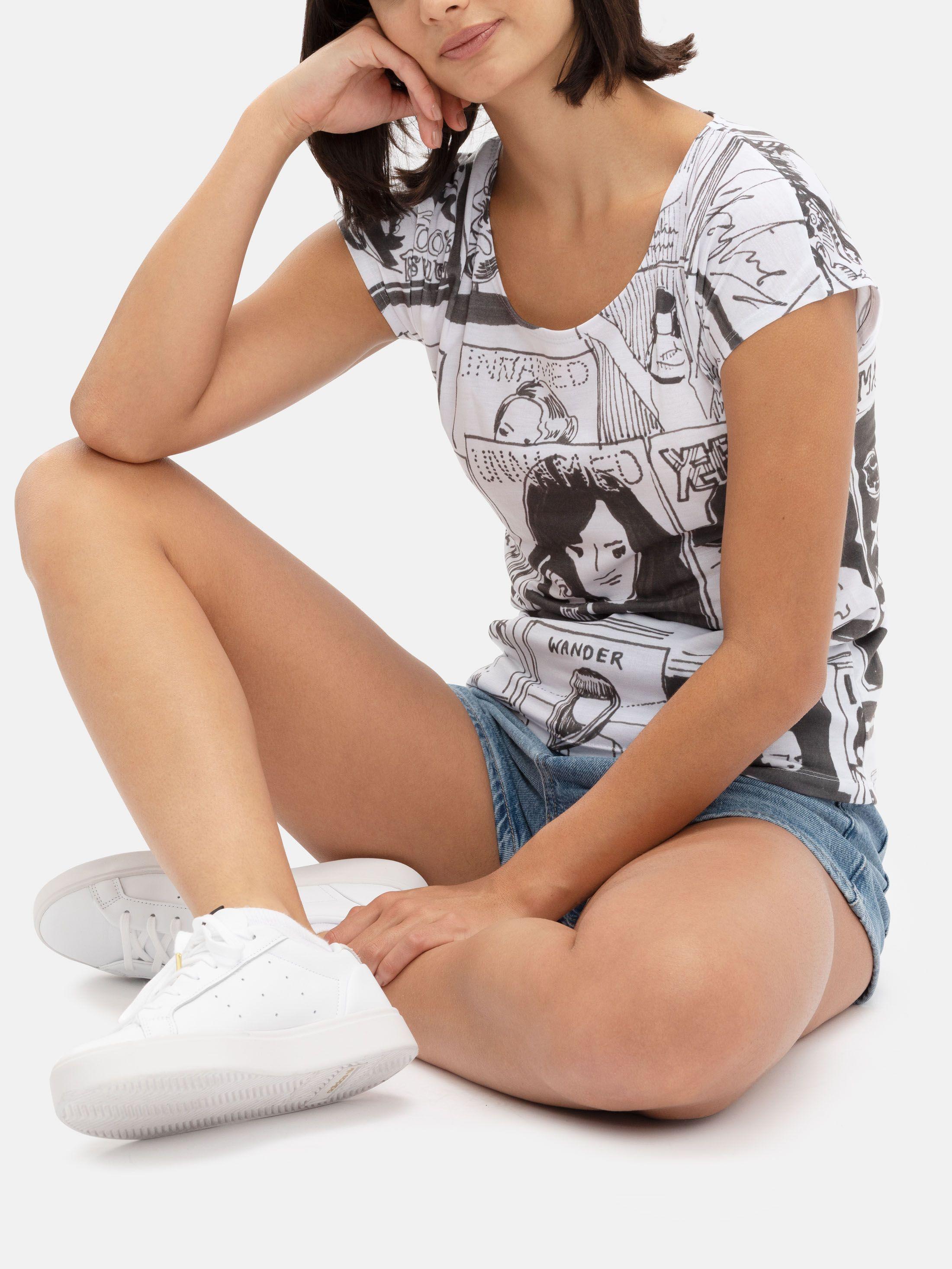 Imprimir Camisetas Mujer Online